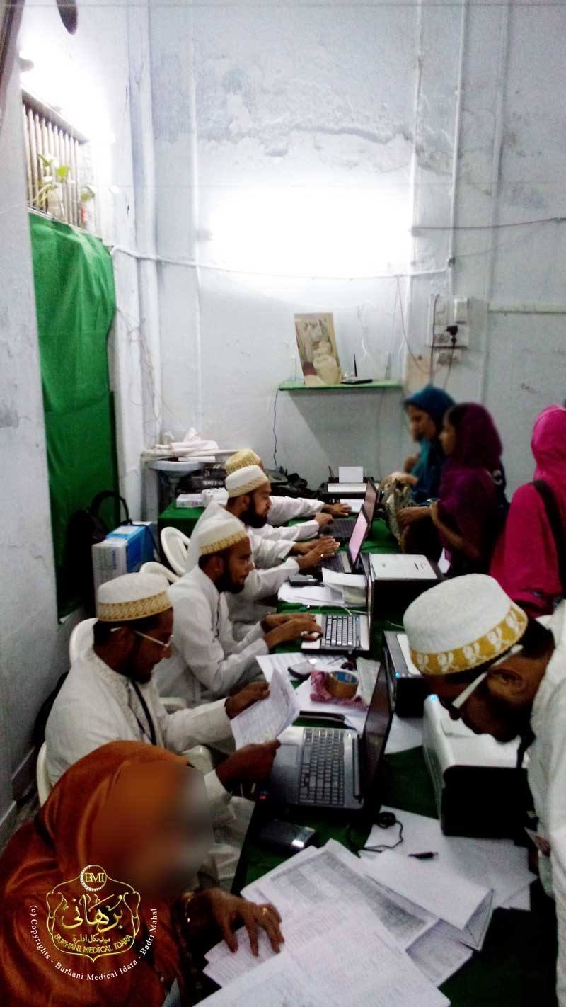 Registration Desk - Ashara Mubaraka, Surat 1436H.