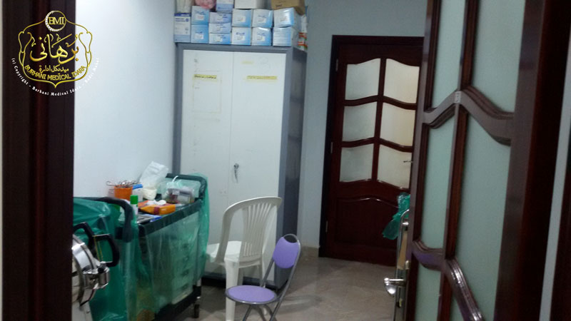 Medical Camp Setup @ Mohammedi Makan, Makkah - Hajj Medical Khidmat, Makkah Mukarrama 1436H.